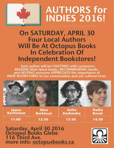 Authors for Indies Day