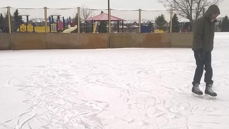 Daniel skating